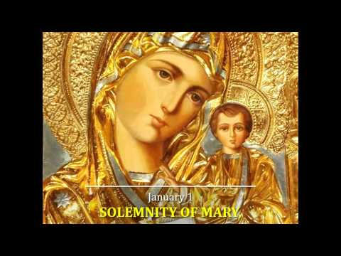 Solemnity Of Mary – Holy Day
